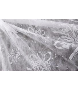 Centrotavola Tulle Bouquet Natale 100 x 100 cm