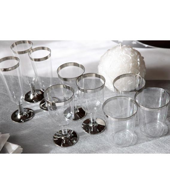 Bicchieri di Plastica Cerimonie Vino 175 cc
