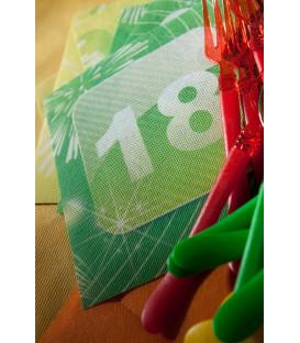 Tovaglioli 18 Anni App 33 x 33 cm 3 confezioni