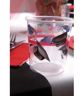 Bicchieri di Plastica PPL Laurea 250 cc 3 confezioni