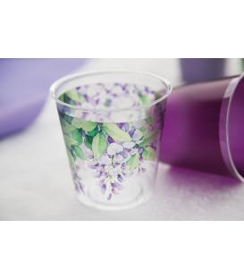 Bicchieri di Plastica Glicine 300 cc