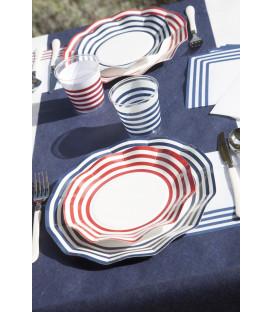 Tovaglioli Navy Blu 33 x 33 cm 3 confezioni