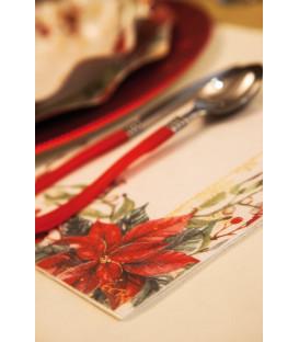 Tovaglioli 3 Veli Natale Romantico 3 confezioni