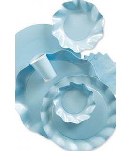 Bicchieri di Plastica Celeste Pastello 300 cc