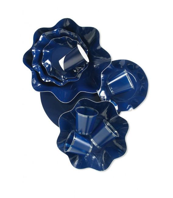 Bicchieri di Carta Blu Notte 250 cc