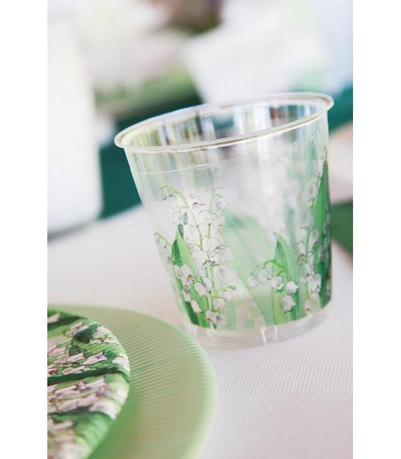 Bicchieri di Plastica 300 cc Mughetti 3 confezioni