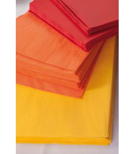 Tovaglioli 3 Veli Arancione 33x33 cm 3 confezioni