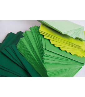 Tovaglioli 2 Veli Verde Scuro 3 confezioni