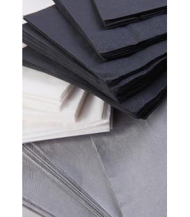 Tovaglioli 2 Veli Nero 33 x 33 cm 3 confezioni