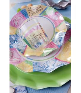 Bicchieri di Plastica 300 cc Comunione Colorata 3 confezioni