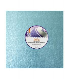 Sottotorta Vassoio Rigido Quadrato Celeste H 1,2 cm