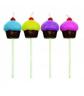 Candeline a Cupcake 8 Pz PME