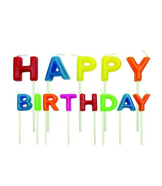 PME Candeline Happy Birthday 13 Pz
