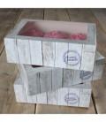 Box 6 Cupcakes Home Made 24 x 16 x 8 cm e Inserto 3 Pz FunCakes