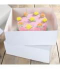 Scatola per Torta Bianca 32 x 32 x 11,5 cm 2 Pz FunCakes