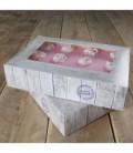 Scatola per Torta Home Made 36 x 25 x 8 cm 2 Pz FunCakes