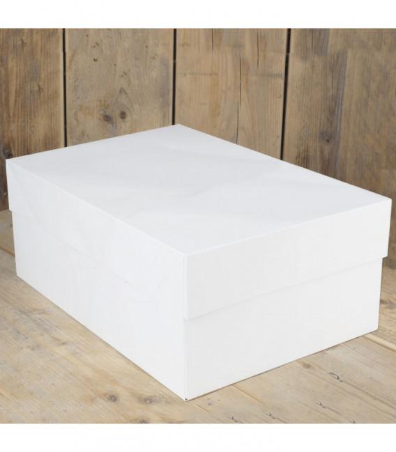 Scatola per Torte Bianca 40 x 30 x 15 cm 1 Pz FunCakes
