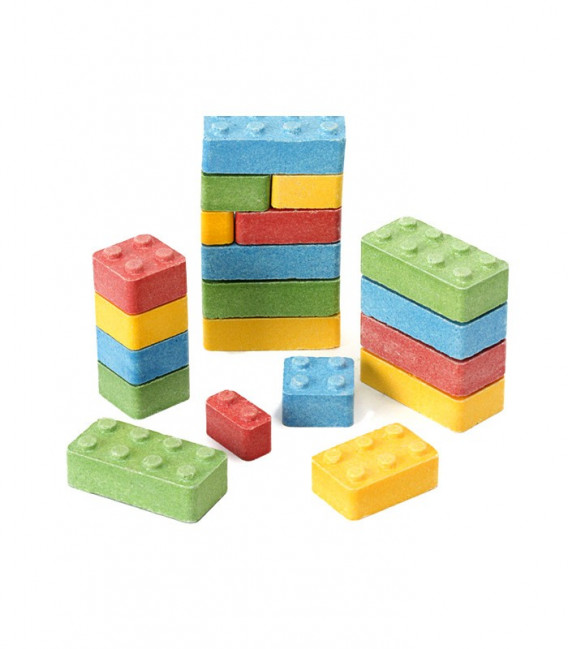 Candy Blox tipo Lego 1 Kg