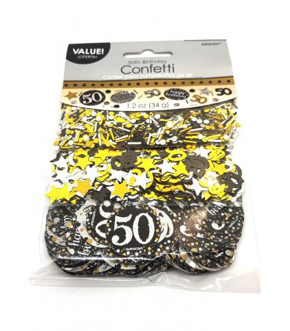 Coriandoli - Confetti da Tavola 50 Anni 34 g