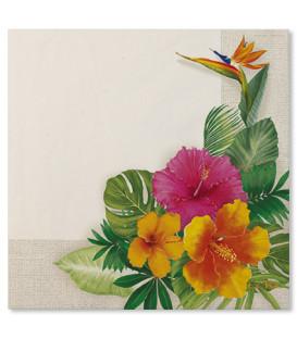 Tovaglioli Tropical 33 x 33 cm 3 confezioni