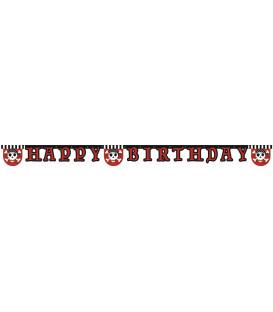 Festone Lettere Buon Compleanno Pirate's ComeBack