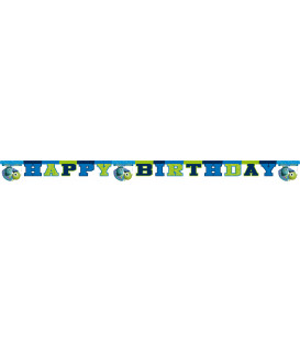 Festone Lettere Buon Compleanno Monster University Disney
