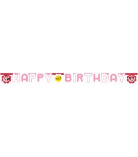 Festone Lettere Buon Compleanno Minnie e Daisies Disney