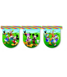 Festone Bandierine Mickey Mouse Colours Disney