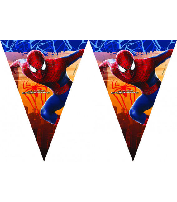 Festone Bandierine The Amazing Spiderman 2 Marvel