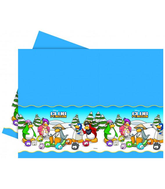 Tovaglia in Plastica 120 x 180 cm Club Penguin Disney
