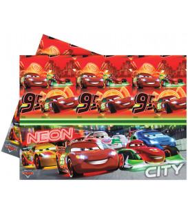 Tovaglia in Plastica 120 x 180 cm Cars Neon Disney