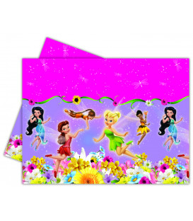Tovaglia in Plastica 120 x 180 cm Fairies SpringTime Disney