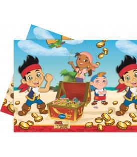 Tovaglia in Plastica 120 x 180 cm Pirata Jake Buon Compleanno Disney