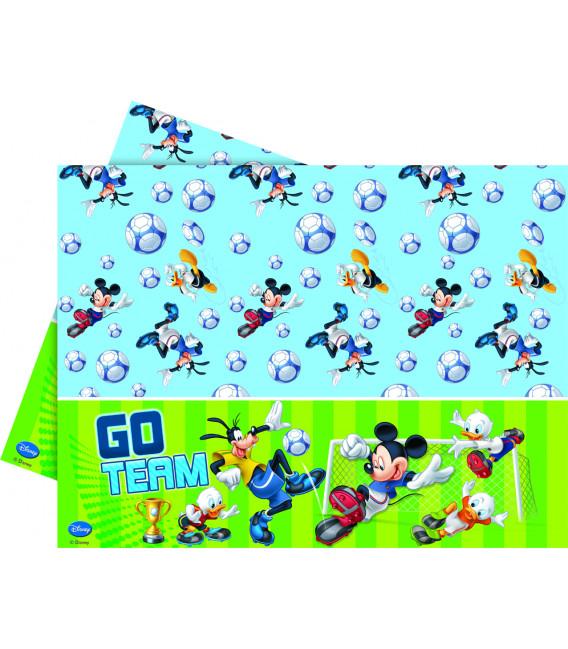 Tovaglia in Plastica 120 x 180 cm Mickey Mouse Goal Team Disney