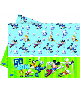 Tovaglia in Plastica 120 x 180 cm Mickey Mouse Goal Team Disney
