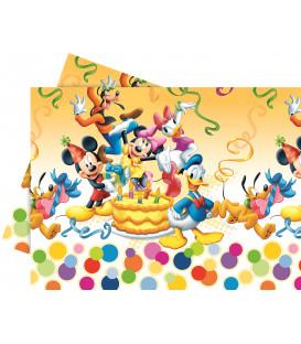 Tovaglia in Plastica 120 x 180 cm Mickey Mouse Buon Compleanno Disney