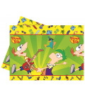 Tovaglia in Plastica 120 x 180 cm Phineas and Ferb Disney