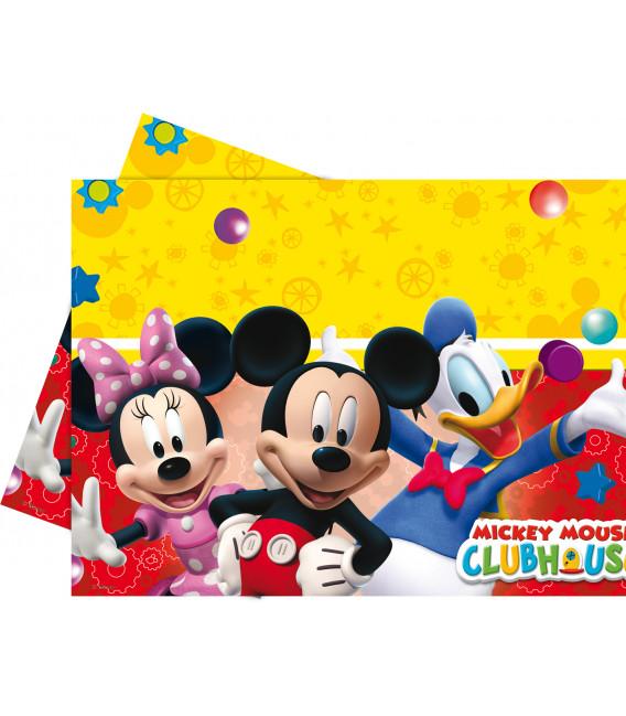 Tovaglia in Plastica 120 x 180 cm Club House PlayFul Mickey Mouse Disney
