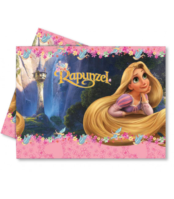 Tovaglia in Plastica 120 x 180 cm Rapunzel Disney