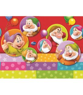 Tovaglia in Plastica 120 x 180 cm I Sette Nani Colour Disney