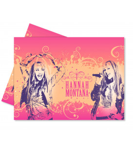 Tovaglia in Plastica 120 x 180 cm Hanna Montana Glitter and Shine Disney