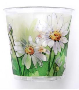Bicchieri di Plastica Margherite Pretty 300 cc 3 confezioni