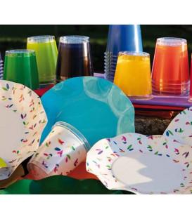 Bicchieri di Plastica 300 cc Spring o Primavera Che dir si voglia 3 confezioni
