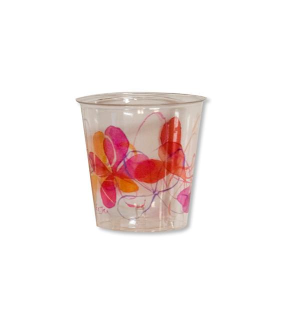 Bicchieri di Plastica Fresh Pink 300 cc