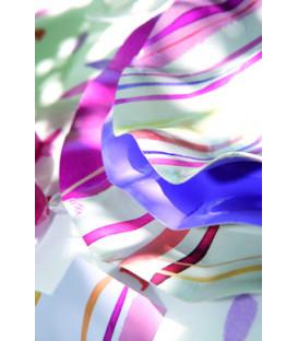 Piatti Piani di Carta a Petalo Fresh Pink 24 cm