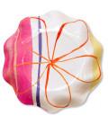 Piatti Fondi di Carta a Petalo Fresh Pink 18,5 cm