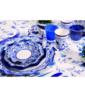 Tovaglia Rettangolare Blu Vogue 700 x 140 cm Rotolo