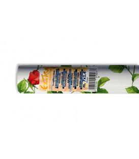 Tovaglia TNT a rotolo Rettangolare Rose Rosse 7x1,4 mt