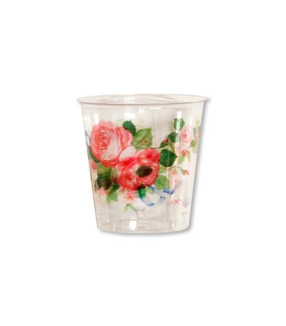 Bicchieri di Plastica 300 cc Cachepot di Eleganza 3 confezioni