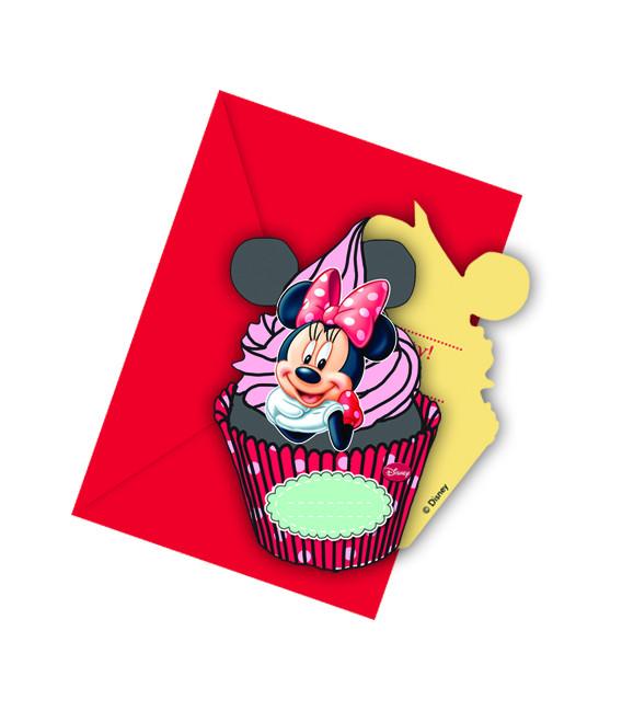 Biglietti Inviti Compleanno Minnie Cafè Disney